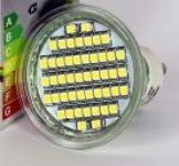 LED izzó - GU10 48led-es