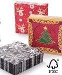 karácsonyi papírszalvéta