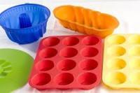 szilikon sütőforma - multipack