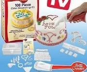 professzionális sütemény és tortadíszítő készlet