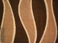 suba szőnyeg - hullám mintás/barna