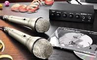 (karaoke) mikrofon készlet - ajándék lufikkal