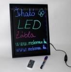Írható világító LED tábla