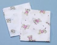textilpelenka - színes - 2db-os
