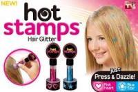 Hot Stamps - hajdíszítő csillámpecsét