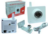 Noname Wireless  beltéri memóriakártyás 12 infra led IP kamera