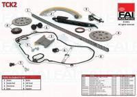 Opel Astra G, Vectra B, Zafira 2.2i 16V vezérműlánc készlet tck2
