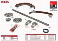 Toyota Avensis, Celica, RAV4 1.8 vezérműlánc készlet tck35