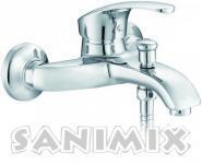 Sanimix Alfa Kádtöltő Csaptelep Zuhanyszettel