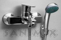 Sanimix Delta Kádtöltő Csaptelep Zuhanyszettel