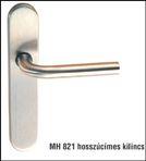 Inox kilincs+cím MH 821/19 L