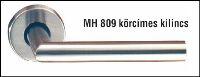 Inox kilincspár körroz. MH 809/19