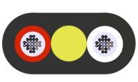 Optikai kábel 48x 9/125um SM Lapos kivitel