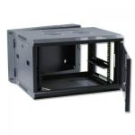 X-Tech 18U kétrészes fali rack szekrény, 600 mm mély
