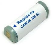 Canon NB-9L utángyártott akku Szállítási díj 600 Ft