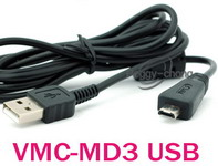 USB Sony VMC-MD3 utángyártott adatkábel . Posta díj 600 Ft