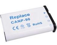 Casio NP-90 utángyártott akku akkumulátor Szállítási díj 600,- Ft
