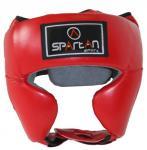 Spartan bőr boksz fejvédő