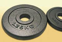 Fém súlyzótárcsák 2.5kg