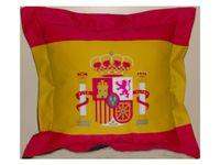 Spanyol címeres kispárna