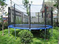 Fun  trambulin+védőháló 4.57m