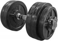 15 kg gumis súlyzószett