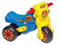 Cross motor kék-sárga