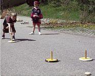 Curling szett szabadtérre