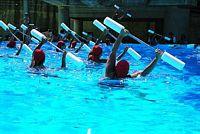 "Aquafitness súlyzó rúd 107cm ""Multitrainer"" 15cm átm"