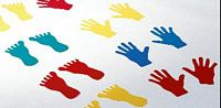 Kéz-láb lapos gumi készlet 44 db-os