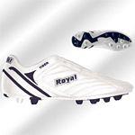 Royal Tiger fehér gumis futballcipő