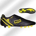 Royal Tiger fek-c.sárga gumis futballcipő