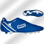 Royal Tiger k.kék gumis futballcipő