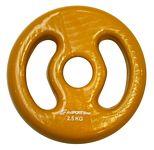 Súlyzótárcsa inSPORTline Ergo vinyl  2,5kg
