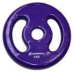 Súlyzótárcsa inSPORTline Ergo vinyl  5 kg