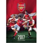 Arsenal falinaptár 2017