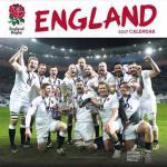 Anglia rugby válogatott falinaptár  2017