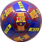 FC Barcelona logós műbör reklám 5-ös focilabda