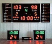 Kosárlabda komplett eredménjelző
