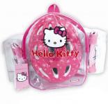 Hello Kitty védőszett+ sisak