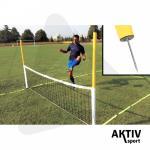 Multifunkciós leszúrható lábtenisz háló