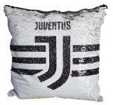 Flitteres Juventus címeres párna