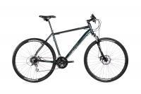 KRP WOODLANDS CROSS 700C 2.0 24S SMALL ZÖLD Kerékpár