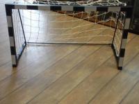 Összecsukható kiskapu hálóval XL