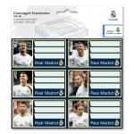 Real Madrid csomagolt füzetcímke (3x6 db)