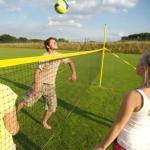 Strandröplabda állvány szett Fun Sports