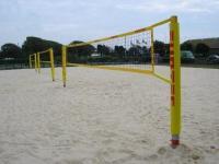 Strandröplabda állvány szett Pro Beach 9,5 m hálóval