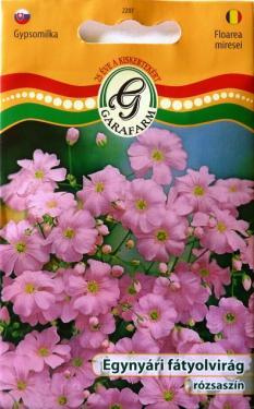 Fátyolvirág egynyári rózsaszín