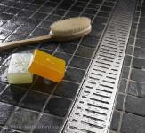 ACO Comfort 785mm Zuhanyfolyókához hullám rács