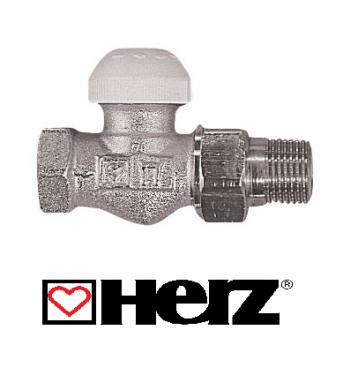 """HERZ-TS-90 1/2"""" termosztatikus szelep egyenes kivitel"""
